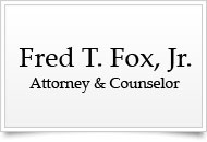 Fred Fox, Jr. | Attorney